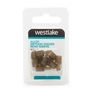 Grey Westlake Alloy Feeder Bead Sleeve 10 Pieces