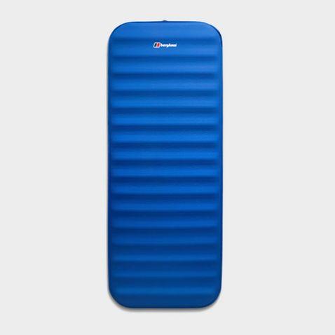 Blue Single Self Inflating Mat Inflatable Sleeping Mattress TRANSPARENT MAT
