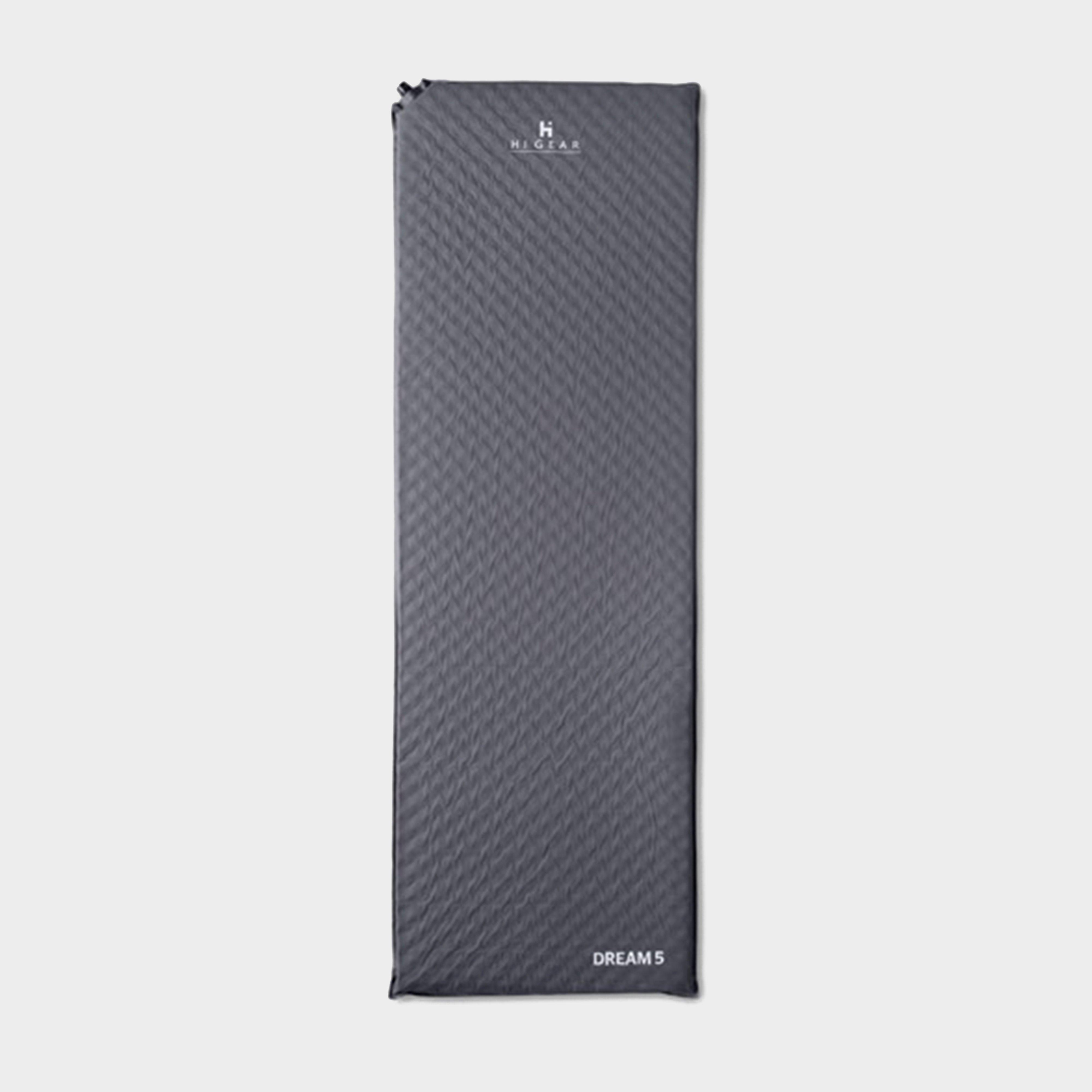 HI-GEAR Dream 5 Sleeping Mat, Grey