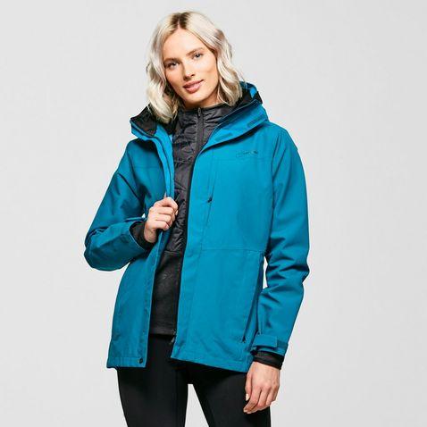Storm Ridge Ladies Spots Pack Away Rain Mac Jacket