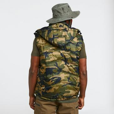 Camouflage SVENDSEN Bank Bound Thermo Vest