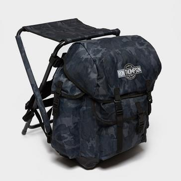 Grey SVENDSEN Camo Backpack Chair