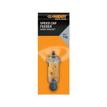 Orange Middy Carp Bomb Feeder Mini 14G