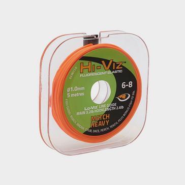 Middy Middy Hiviz Pole Elastic Orange 6 8