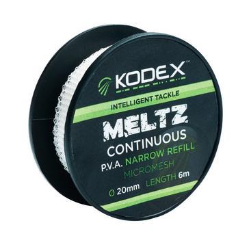 Clear Kodex 6M Meltz Pva Refill 20Mm
