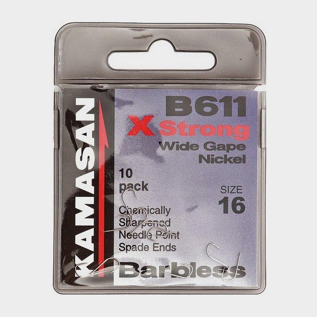 BLACK Kamasan B611B Xs Barbless Size 22 image 1