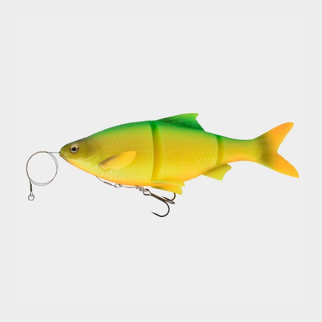 Yellow SavageGear Line Thru Roach Firetiger 25Cm 200G image 1