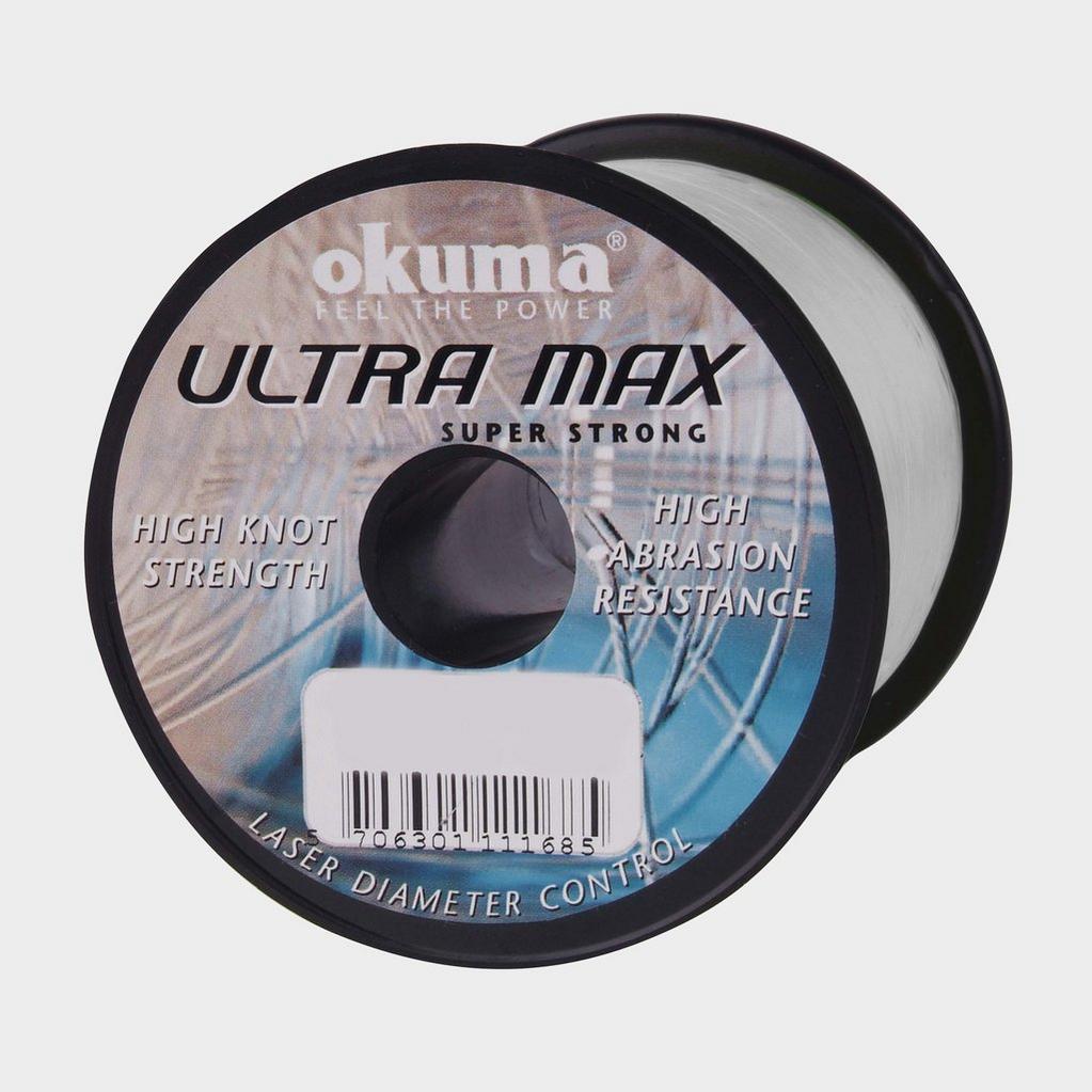 Silver Okuma Ultramax 4Oz Clear 4Lbs image 1