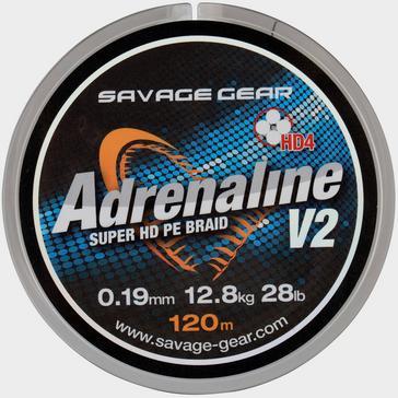 SavageGear 0.13Mm 17Lbs Hd4 Adrenaline V2 120M Grey