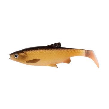 Yellow SavageGear 3D Lb Roach Paddletail 12.5Cm 22G 2Pcs Dirty Roach - 57433