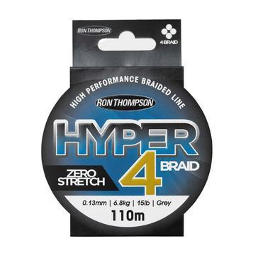 Black RON THOMPSON Hyper 4-Brd 110M 0.13Mm 6.8Kg - 15Lb Grey - 61473