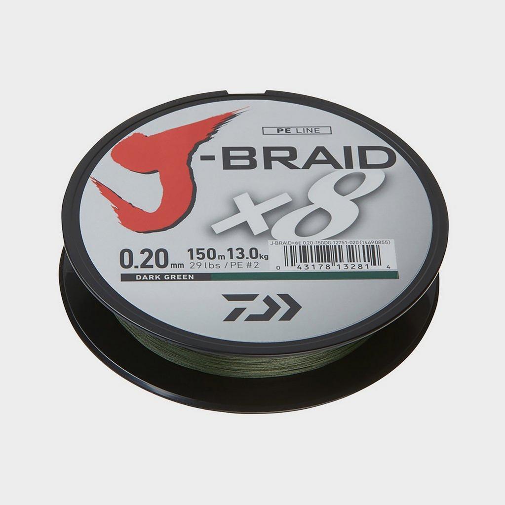 Daiwa J-Braid X8 20Lb - Jb8E0.16 image 1