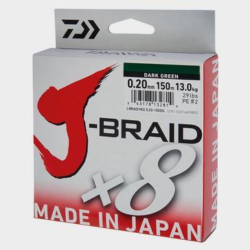 Daiwa J-Braid X8 20Lb - Jb8E0.16