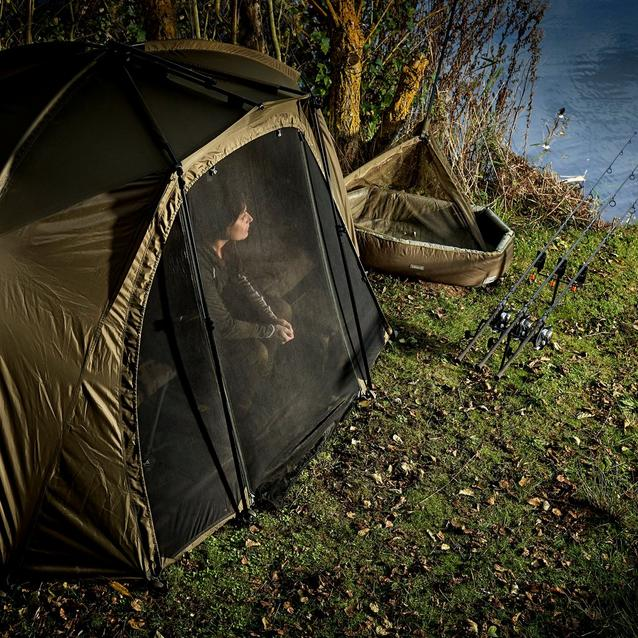 Trakker Tempest Brolly 100 T - Insect Panel image 2
