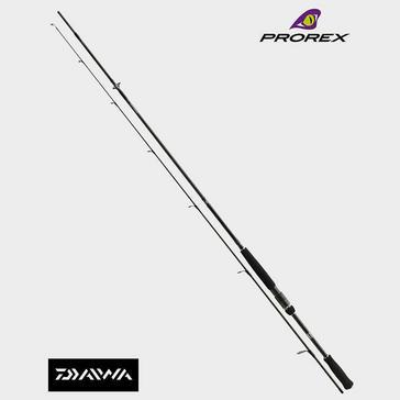 "Black Daiwa Prorex AGS 6ft 3"" Spinning Rod"