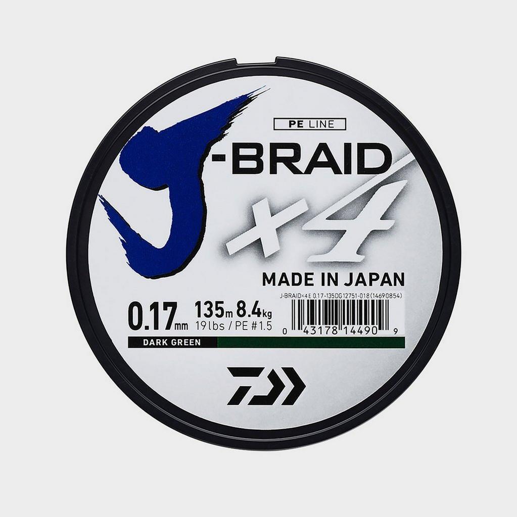 Daiwa J-Brd X4E 0.13Mm-135M Drk Grn - Jb4E0.13-135Dg image 1