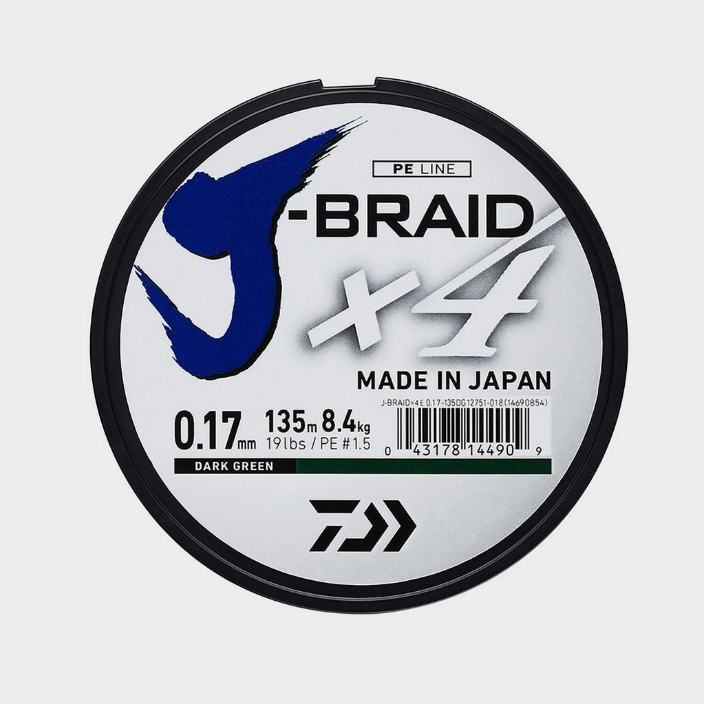 Daiwa J Brd X4E 0.25Mm 135M Dark Grn image 1