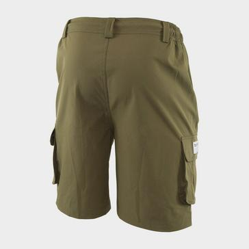 Dark Green Trakker Men's Board Shorts