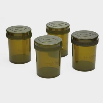 Green Trakker Glug Pots Pack Of 4