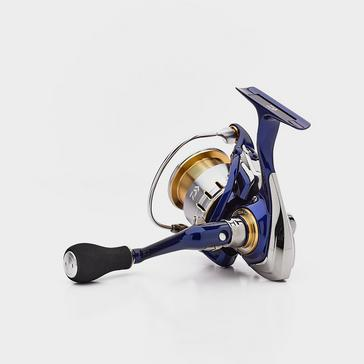 Blue Daiwa 18 TDR 4012 Quick Drag Reel