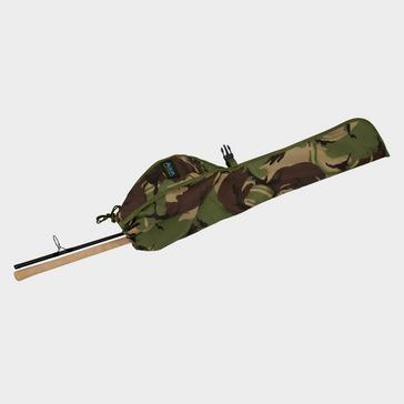 Green AQUA Atom Lightweight Rod Sleeve (DPM Camouflage)