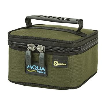Green AQUA Small Bitz Bag Black Series
