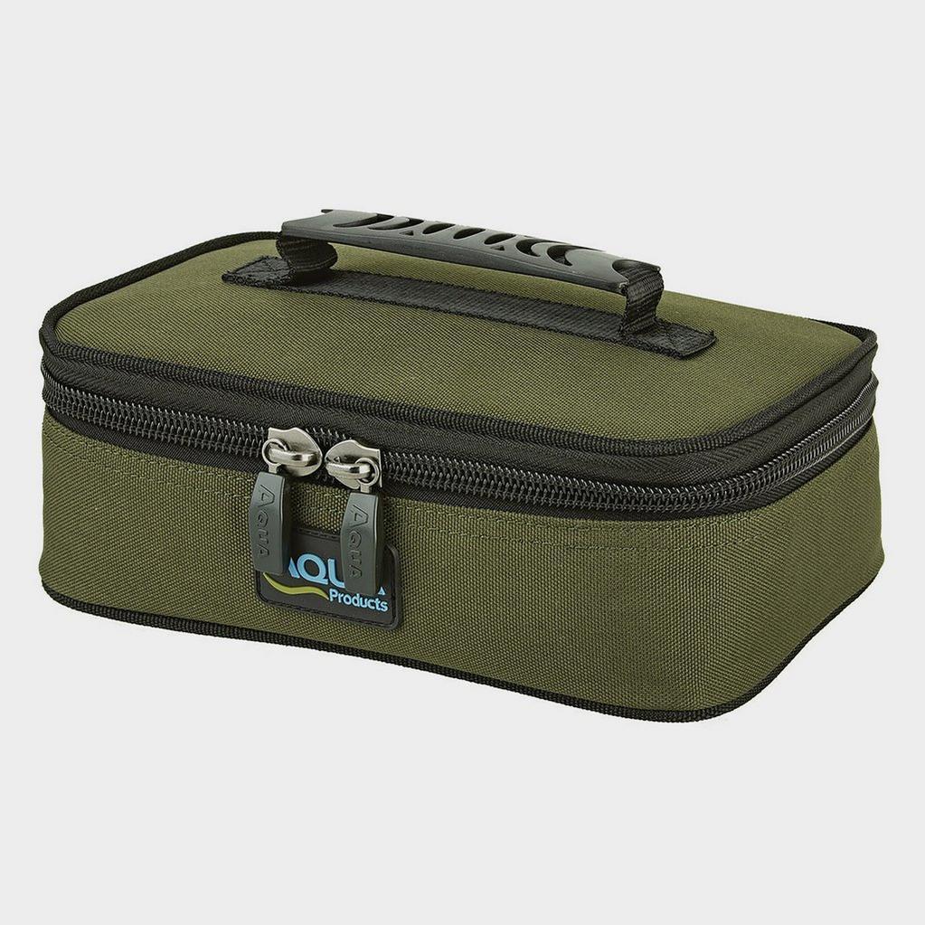 Green AQUA Large Bitz Bag Blk Series image 1