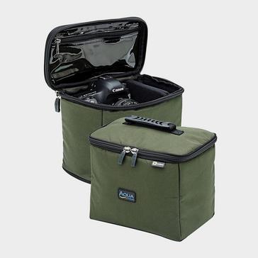 Green AQUA Black Series Roving Gadget Bag