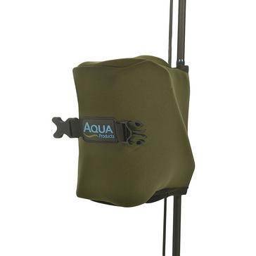 Green AQUA Neoprene Reel Protector Strd