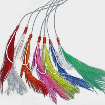 Multi Shakespeare Mackerel Feathers Coloured