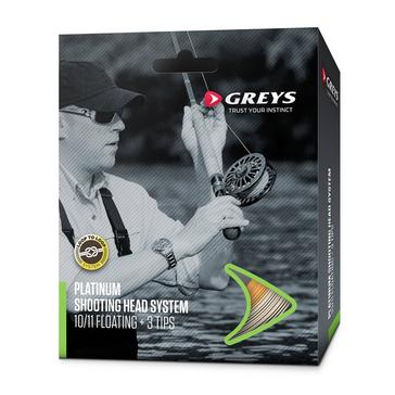 Multi Greys Platinum Shoot Head System Intermed #10/11