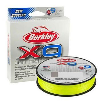 Berkley X9 Braid 9.1k 300m Flu Grn
