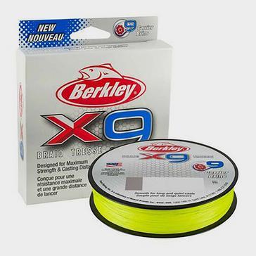 Berkley X9 Brd 29.5k 300m Flu Grn