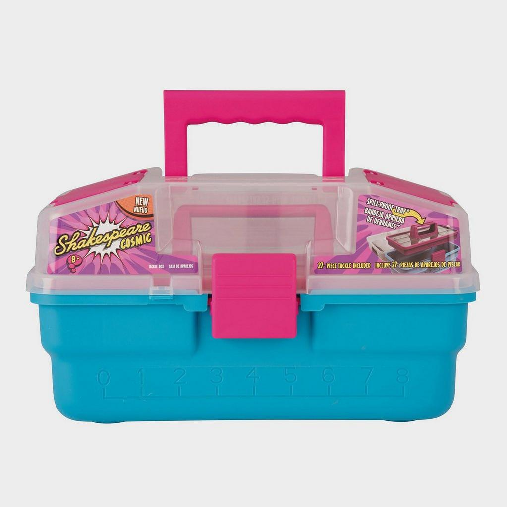 Pink Shakespeare Cosmic Tackle Box image 1