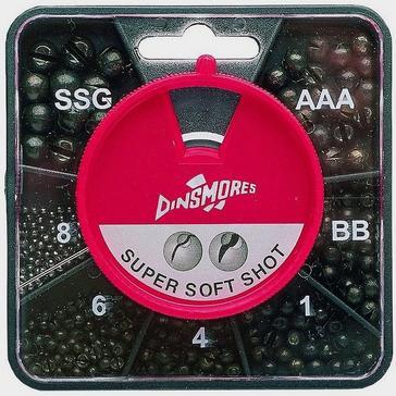 Black Dinsmores 8 Compartment Round Super Soft Shot