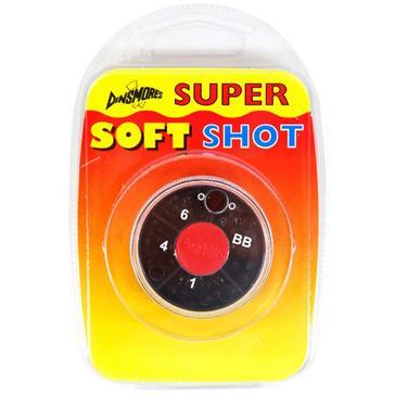 Black Dinsmores 4 Compartment Round Super Soft Shot