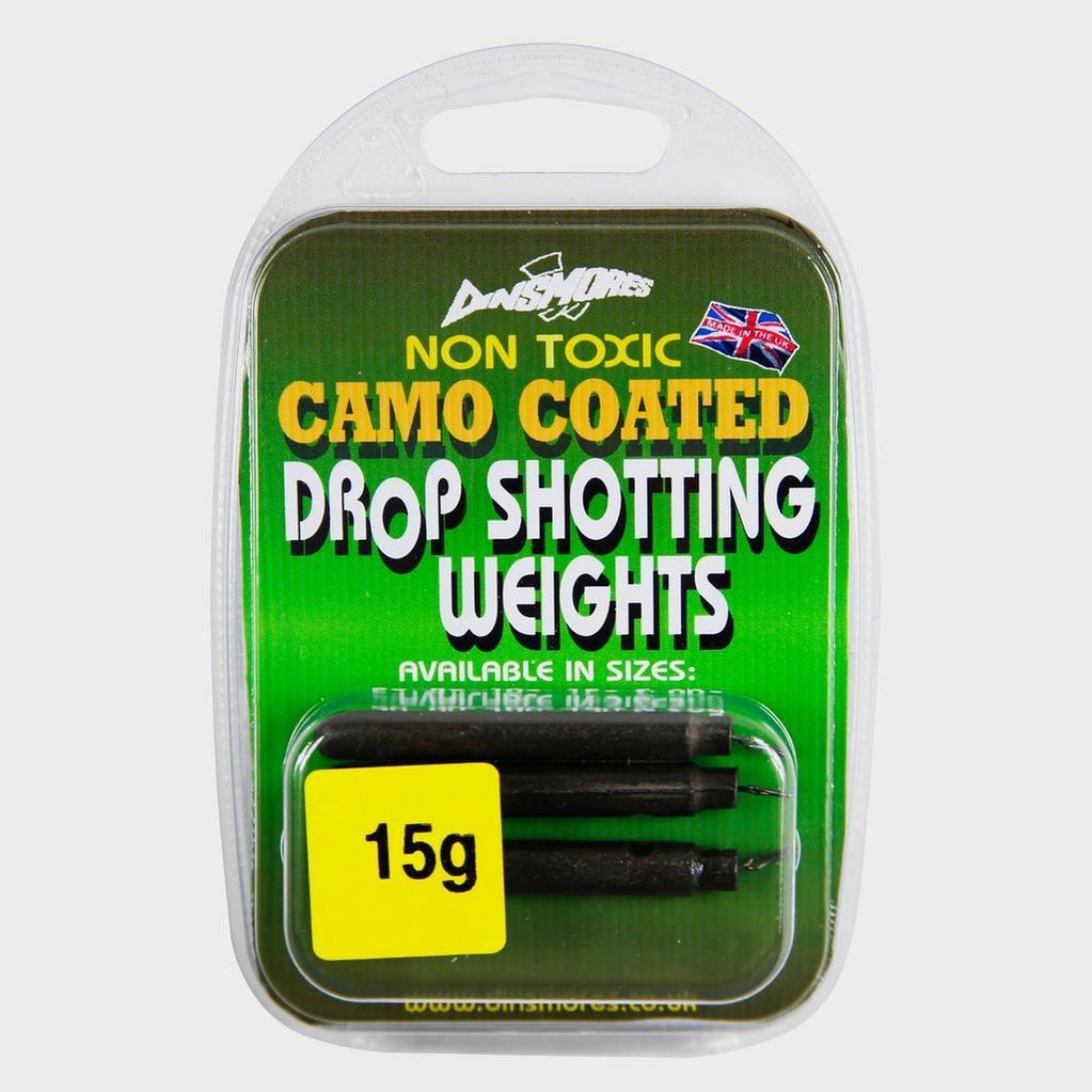 Green Dinsmores Drop Shot Weight 15g image 1