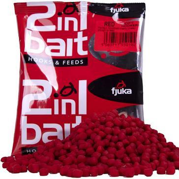 Red FJUKA BAIT 2 in 1 Bait Red (5mm)