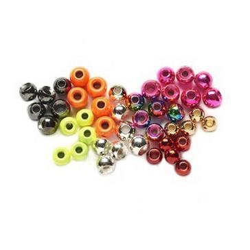 Assorted VENIARD Tungsten Beads Met Pnk 4mm