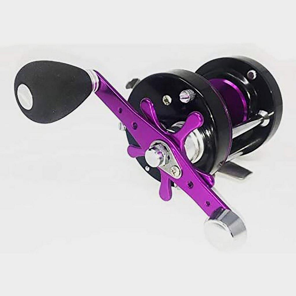 Purple FLADEN Maxximus 6500 Hi-Speed Surf Multiplier Reel image 1