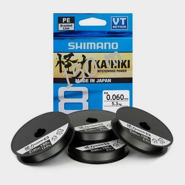 BLACK SHIMANO Kairiki Pe 0.070Mm Steel Gray 4.5Kg 150M