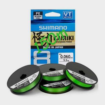 SHIMANO Kairiki Pe 0.100Mm Mantis Grn 6.0Kg 150M
