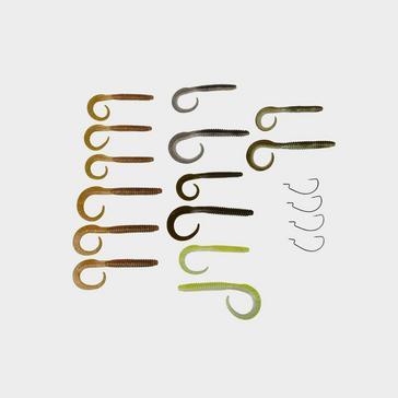 Multi SavageGear Rib Worm Kit 30+17pcs
