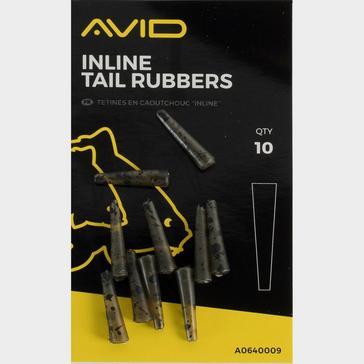 Black AVID Inline Tail Rubbers