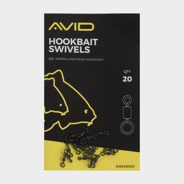 BLACK AVID Hookbait Swivels