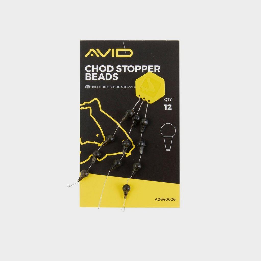 BLACK AVID Chod Stopper Beads image 1