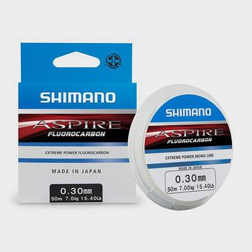 SHIMANO Aspire 50m Flouro 0.375mm 11Kg