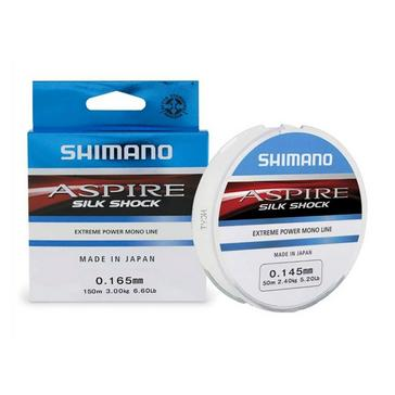 SHIMANO 0.08mm Aspire Silk Shock 50m