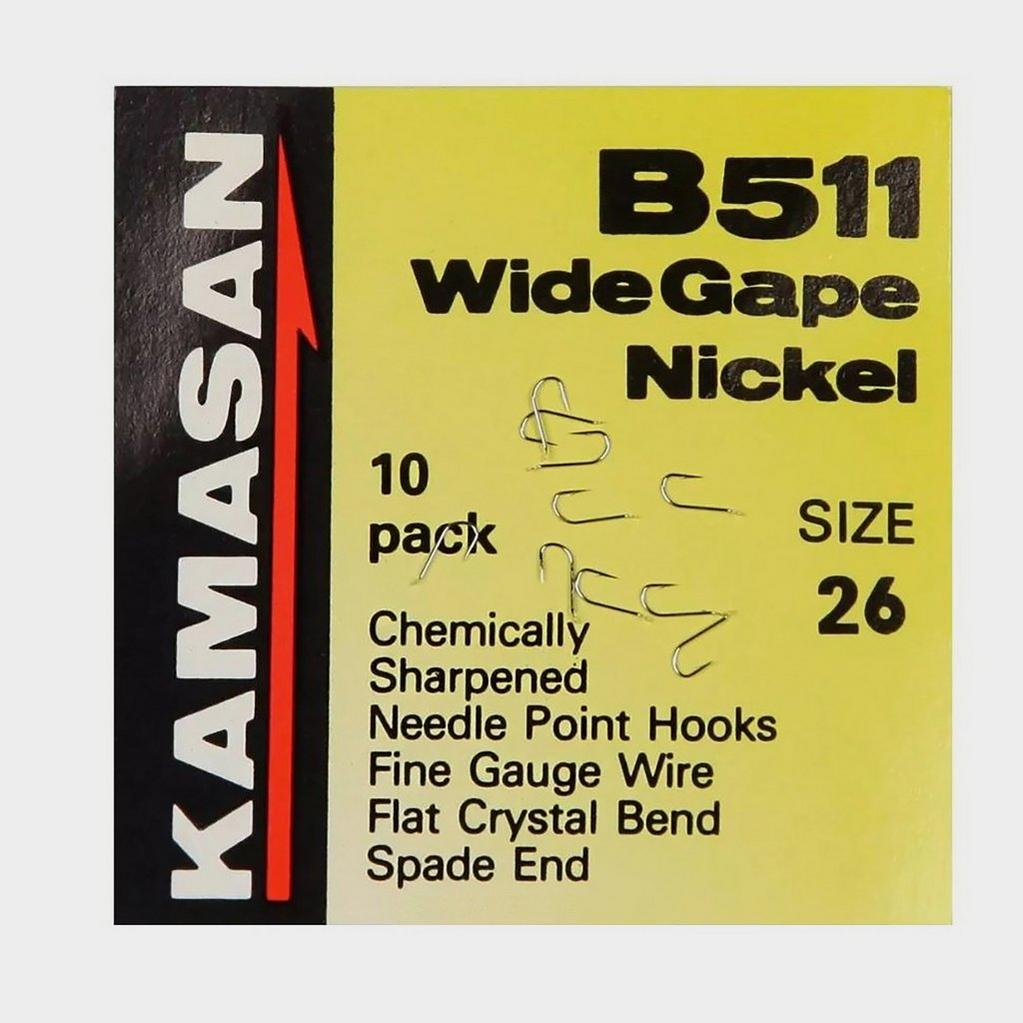 Kamasan B511 Wide Gape Nickel Sz 26 G2489 image 1