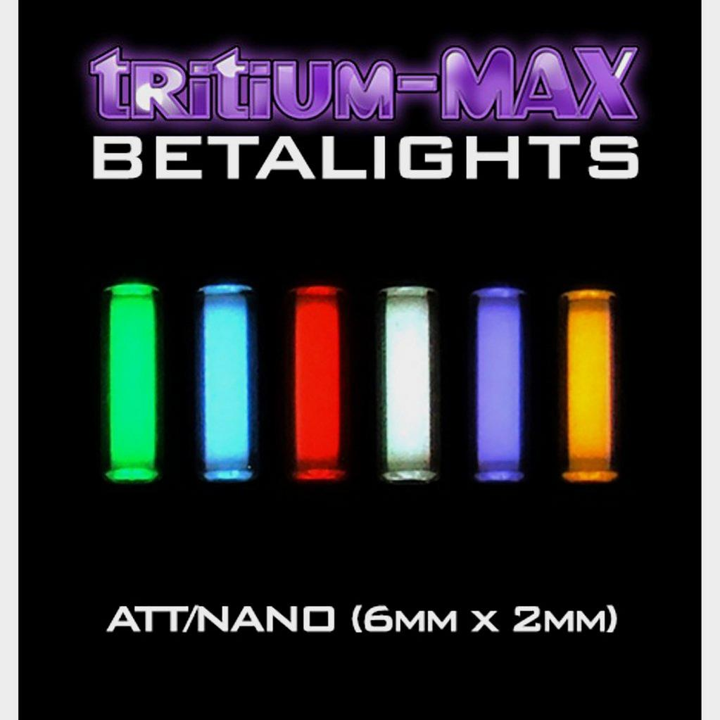 Enterprise Tack Atts Betalights Purple Tritium-Max (Pair) image 1